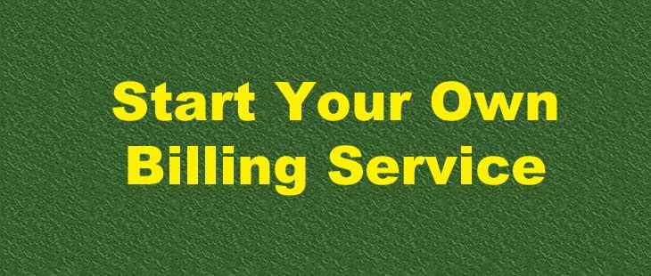 PT Billing Solutions Start Your Own Billing Service