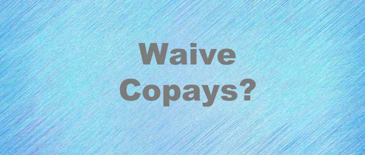 PT Billing Solutions Waive Copays Graphic